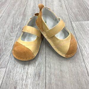 PIPIT suede Jill russet caramel walker shoes